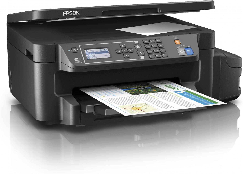 EPSON L605, A4, 4800x1200 dpi, 33/20 ppm, Wifi,USB + 3 barevné lahvičky zdarma