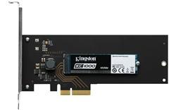 Kingston SSD 480GB KC1000 NVMe PCIe Gen3x4 M.2 2280 MLC (čtení/zápis: 2700/1600; 290/190K IOPS) + adaptér