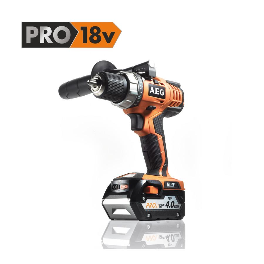 AEG BS 18 C (2x4,0 Ah PRO Li) 18 V Compact Drill/Driver