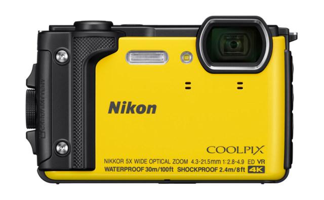 NIKON kompakt Coolpix W300, 16MPix, 5x zoom - žlutý