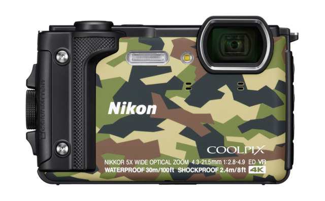 NIKON COOLPIX W300 - 16 MP, 5x zoom - Camouflage
