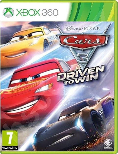 X360 - Cars 3: Driven to Win