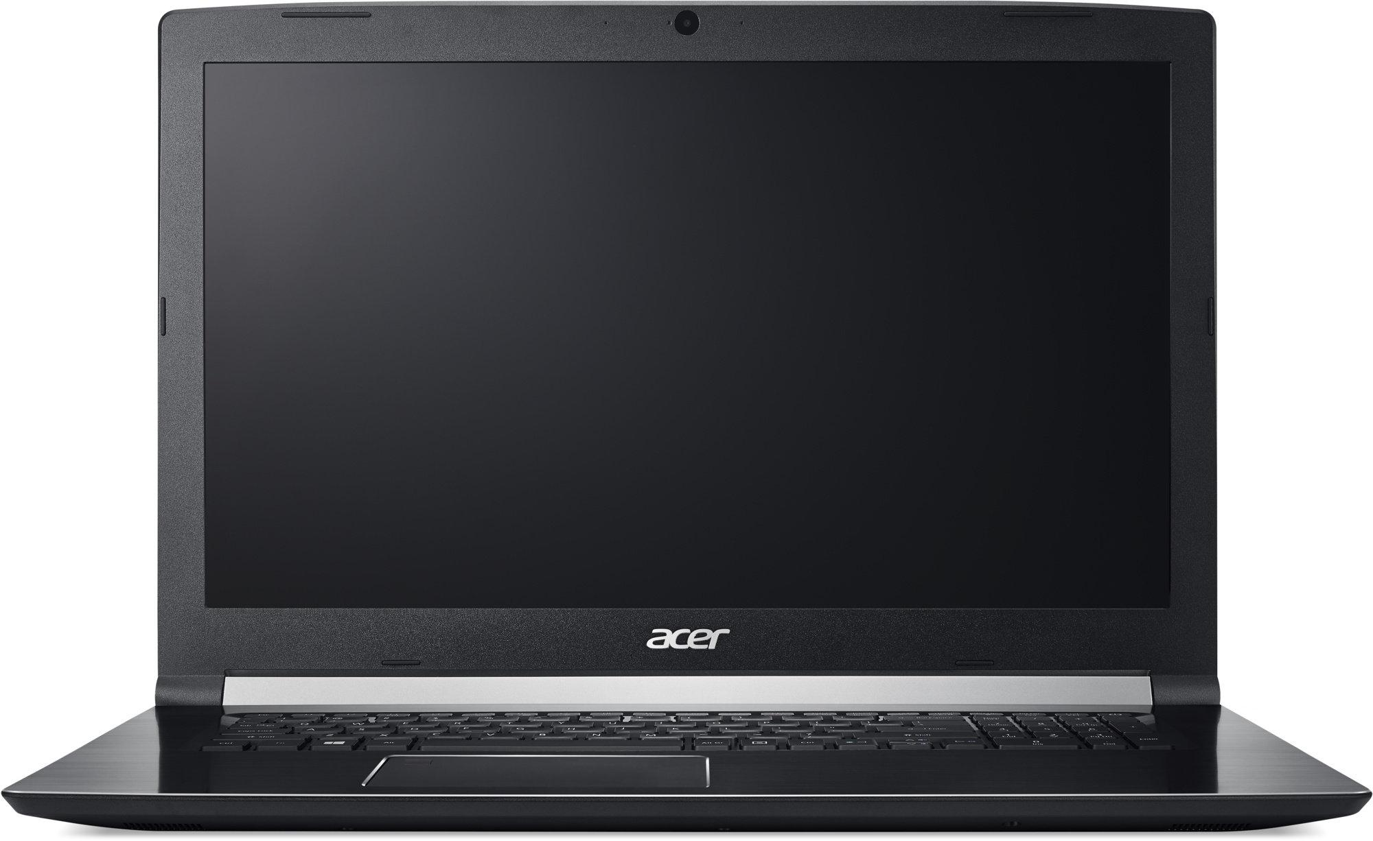 """Acer Aspire 7 (A717-71G-75W6) i7-7700HQ/8GB+N/128GB SSD M.2+1TB/GTX 1060 6GB/17.3"""" FHD IPS matný/BT/W10 Home/Black"""
