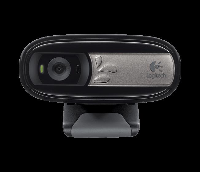 Logitech webkamera C170, černá