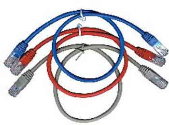 Eth Patch kabel GEMBIRD c5e UTP 2m RED