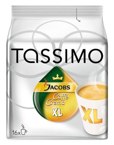 Náplň Tassimo Jacobs Caffe Crema XL