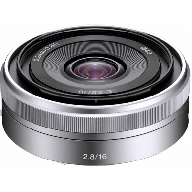 Sony SEL-16mm f/2,8 SEL-16F28 - 16 mm objektiv