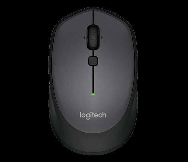 myš Logitech Wireless Mouse M335, black