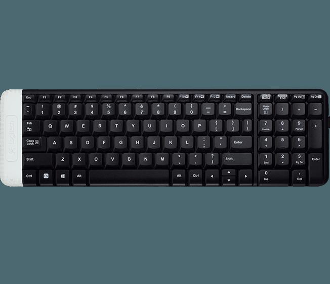 Logitech Klávesnice Wireless Keyboard K230, US