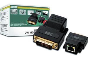 Digitus DVI extender po Cat5 kabelu až na 70m