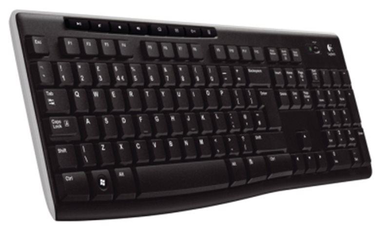 Logitech Kl. Wireless Keyboard K270, US INT´L