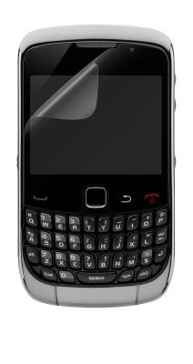BELKIN Fólie Blackberry 9300 Curve, čirá, 3 ks
