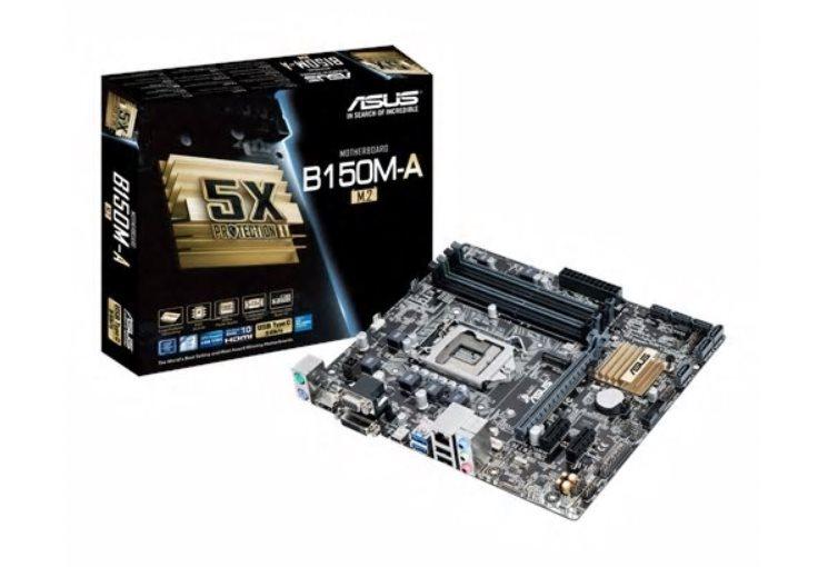 ASUS MB Sc LGA1151 B150M-A/M.2, Intel B150, 4xDDR4, VGA, mATX