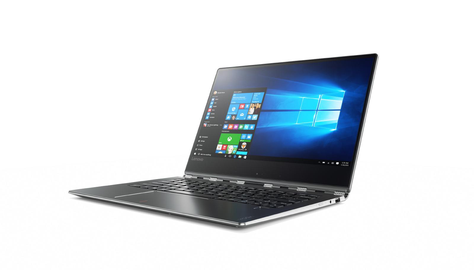 Lenovo IdeaPad YOGA 910-13 IKB 13.9 FHD IPS M Touch/i7-7500U/8G/512SSD/INT/W10P/Backlit/720p/Metal