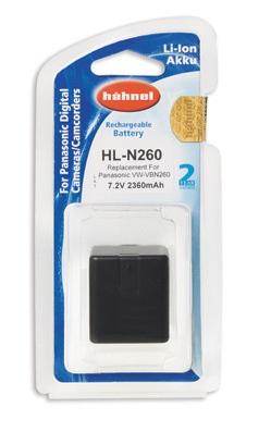 Hähnel HL-N260 - Panasonic VW-VBN260 7.2V, 2360mAh, 17Wh