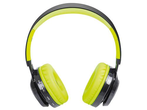 DJ 1300BTR/GR Sluchátka s BT+FM+MP3