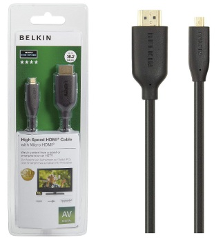 Belkin kabel HDMI/micro-HDMI HighSpeed - 1m