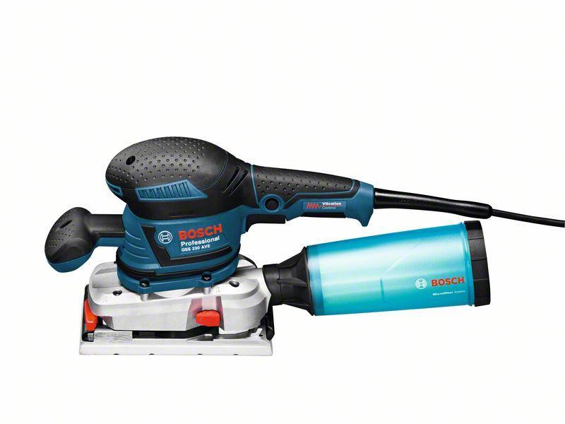 Vibrační bruska Bosch GSS 230 AVE Professional, 0601292802