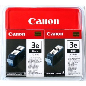 Canon cartridge BCI-3E Bk Black TWIN PACK (BCI3EBK)