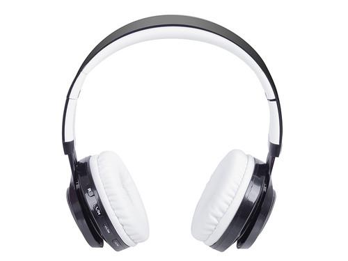 DJ 1300BTR/WH Sluchátka s BT+FM+MP3