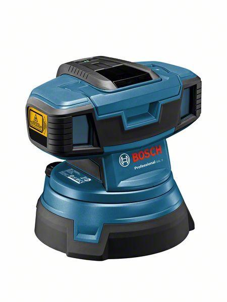Čárový laser Bosch GSL 2 Professional - bez baterie, 0601064000