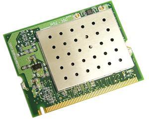 MikroTik R52H mini-PCI karta, 802.11a/b/g, U.FL
