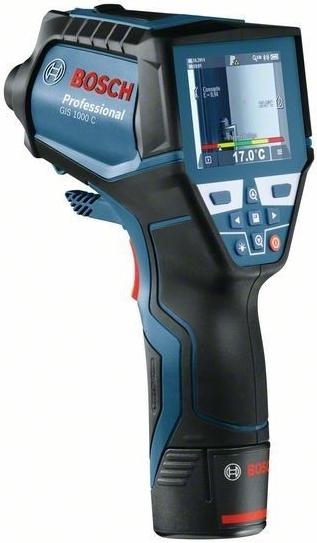 Tepelný detektor Bosch GIS 1000 C Professional s akumulátorem Li-Ion, 0601083301