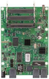 MikroTik RouterBOARD RB433GL, 680MHz CPU, 128MB RAM, 3x LAN, 3x mini-PCI, vč. L5 licence