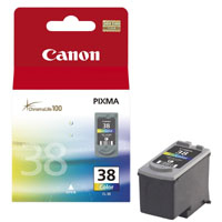 Canon BJ CARTRIDGE color CL-38 (CL38) - BLISTER SEC