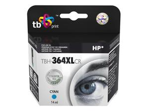 Ink. kazeta TB kompat. s HP CB323EE (No.364), TBH-364XLCR, Cyan