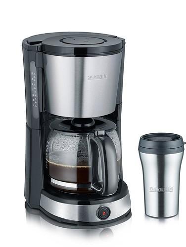 KA 9476 Kávovar nerez s termohrnkem