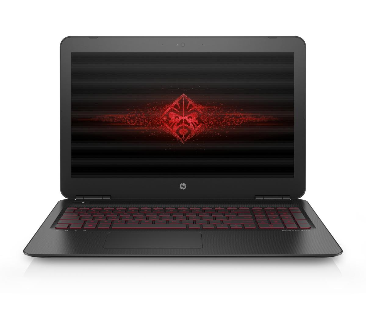 """HP Omen 15-ax200nc/Intel i7-7700HQ/8GB/128 GB SSD M.2 + 1TB/ GTX 1050 4GB/15,6"""" FHD/Win 10/tmavá"""