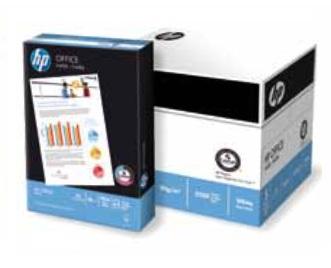 HP OFFICE PAPER B+ - A4, 80g/m2, 1x500listů
