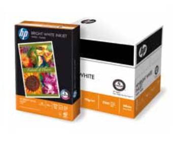 HP BRIGHT WHITE INKJET - A4, 90g/m2, 1x250listů