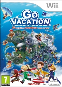 Nintendo Wii hra Go Vacation