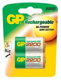 Nabíjecí baterie GP C 2200 NiMH 2ks