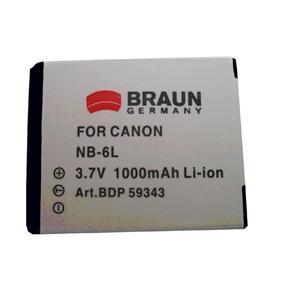 BRAUN akumulátor - CANON NB-6L