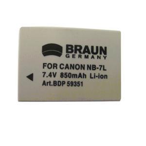 BRAUN akumulátor - CANON NB-7L