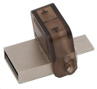 Kingston 8GB DataTraveler microDuo (USB 2.0) - šedý