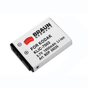 Braun akumulátor KODAK Klic 7003, 1050mAh