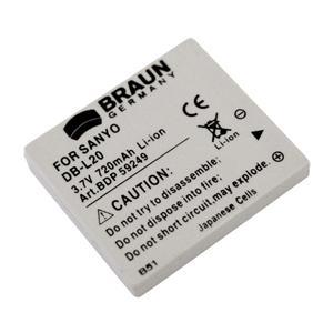 BRAUN akumulátor - SANYO DB-L20