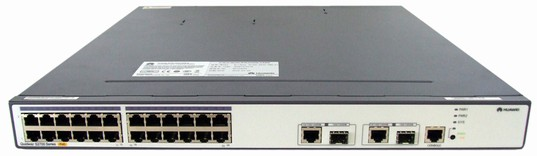 Huawei S2700-26TP-PWR-EI Mainframe(24 10/100 BASE-T ports and 2 Combo GE(10/100/1000 BASE-T+100/1000 Base-X) ports ,PoE,