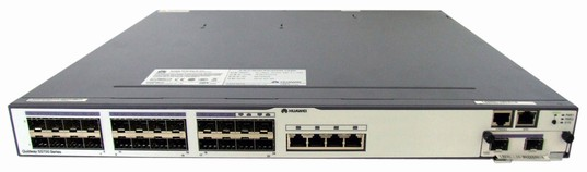 Huawei S5700-28C-EI-24S Mainframe(24 100/1000Base-X,4 Combo GE(10/100/1000 BASE-T),Chassis,Dual Slots of power,Without Flexible