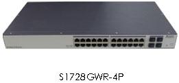 Huawei S1728GWR-4P Mainframe(24 10/100/1000Base-T,4 GE SFP, AC)
