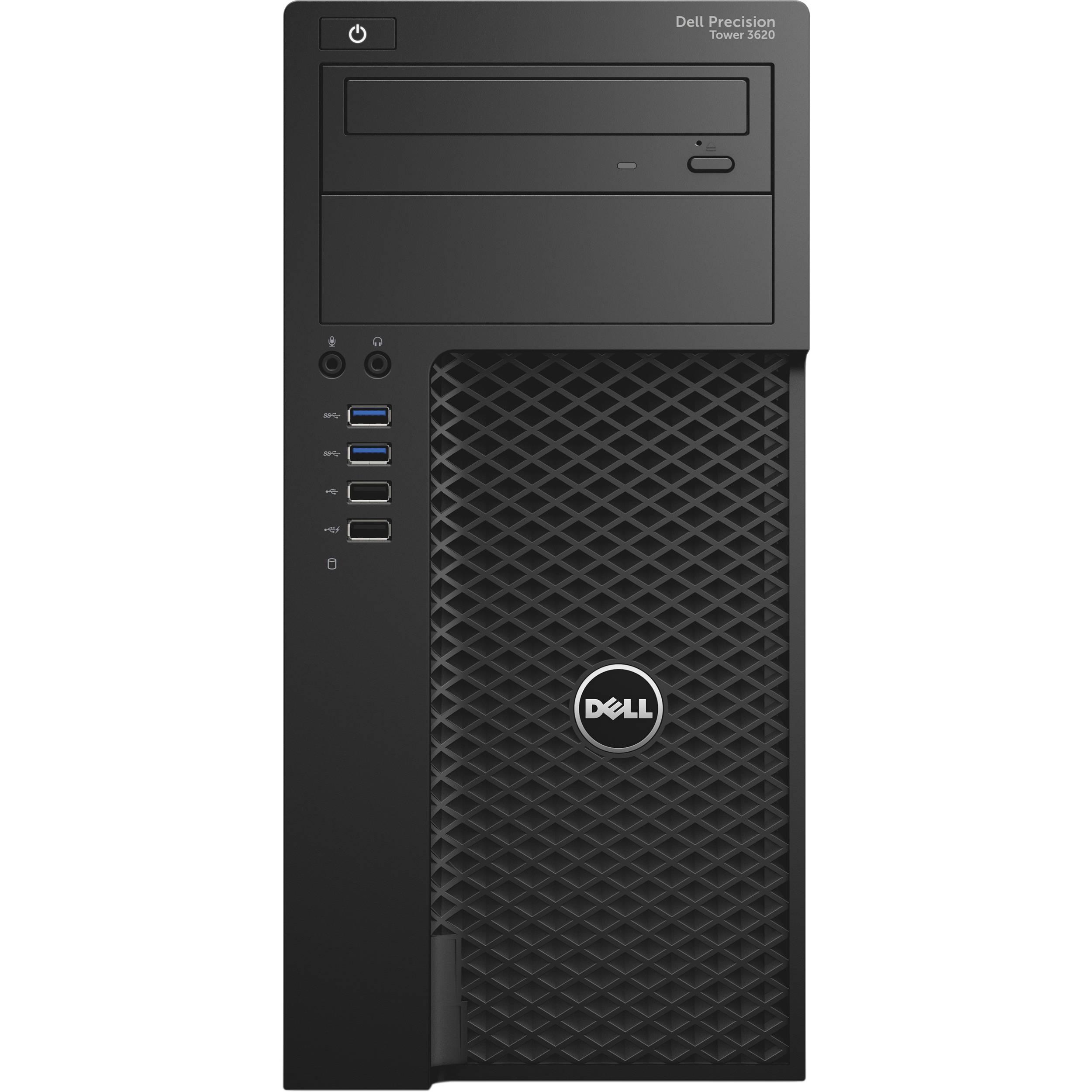 Dell Precision T3620 MT E3-1240/16G/256SSD/M2000-4G/HDMI/DP/DVD-RW/W7P+W10P/3RNBD