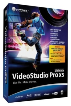 VideoStudio Pro X5 Ultimate Mini-Box