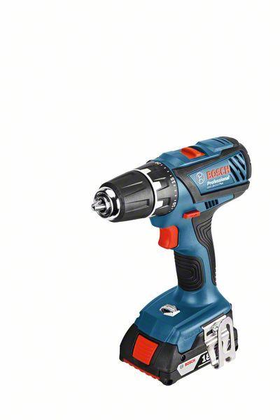 Aku vrtací šroubovák Bosch GSR 18-2-LI Plus Professional - bez baterie, 06019E6102