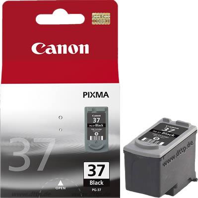 Canon cartridge PG-37 Black BLISTR s ochranou (PG37)