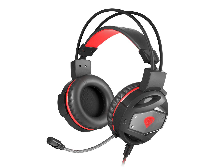 Herní sluchátka Genesis Neon 350, Stereo, Vibrace