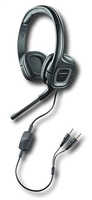 PLANTRONICS sluchátka s mikrofonem Audio 355 pro PC, 3,5 mm jack, černá
